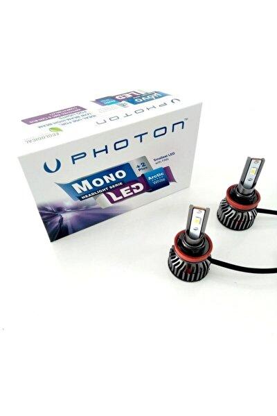 Mono Mini H11led Xenon Beyaz Far Ampulu Şimşek Etkili Zenon