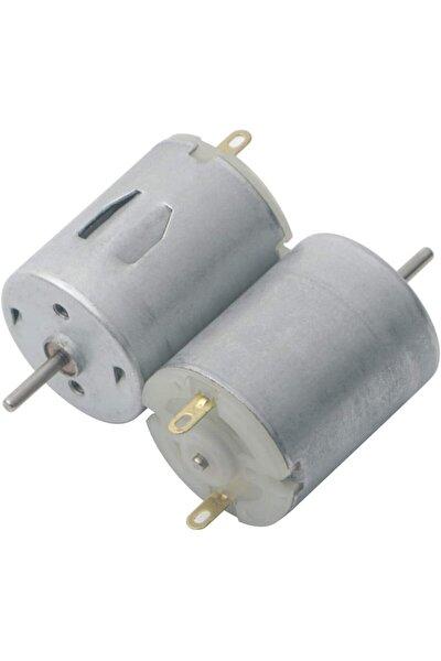 2 Adet Elektrik Üreten Mini Dc Dinamo Motoru - 3v - 12v Eğitici Elektrik Motoru