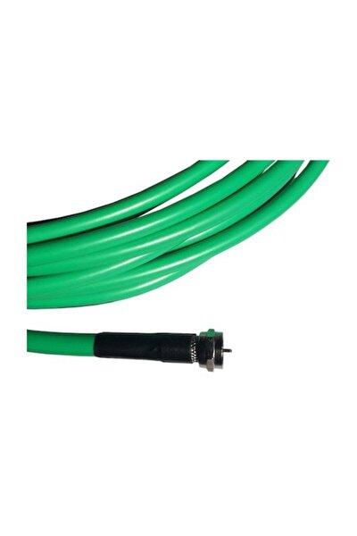Yeşil Rg6u/4u Uydu Çanak Anten Kablosu 60 mt