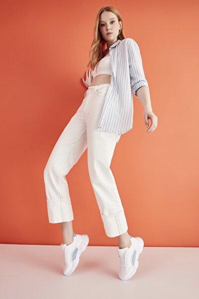 Kadın Beyaz Sneaker 01AYY214560A906