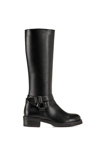 PASOV Siyah Kadın Çizme 100555960