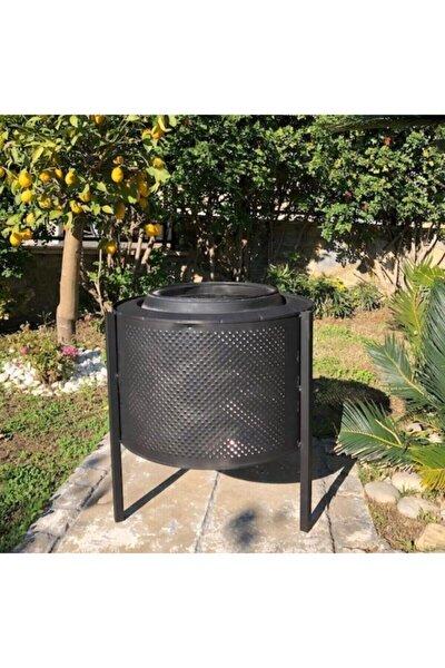 Bahçe Şöminesi Ateş Kovası Estetik Ve Şık Mekanlarınız Için