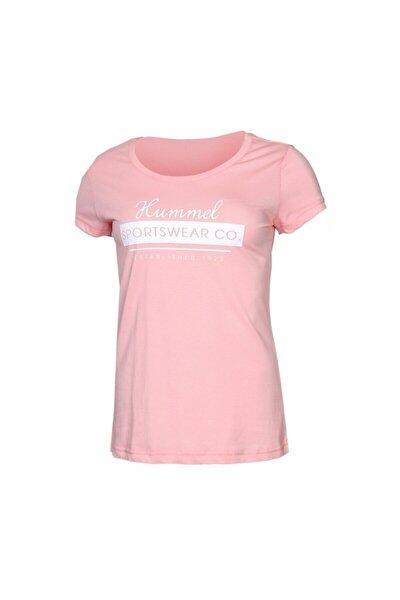 HMLRUBY T-SHIRT S/S Pembe Kadın T-Shirt 100580960