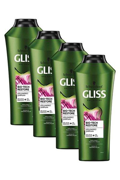 Bio-Tech Güçlendirici Şampuan 360 ml 4'lü