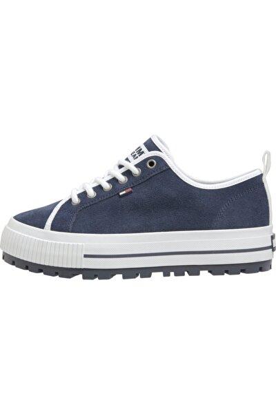 Kadın Mavi Wmns Cleated City Sneaker