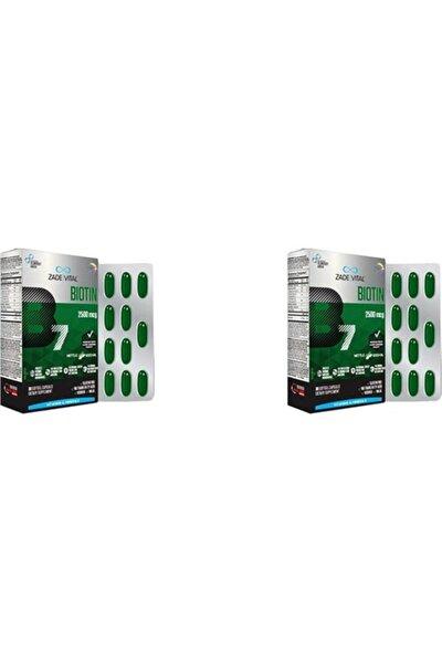 Biotin 2500 Mg X 30 Kapsül X 2