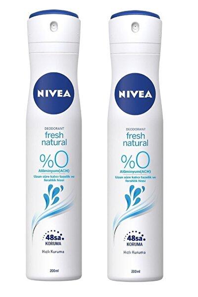 Fresh Natural Deodorant 200 Ml 2 Adet
