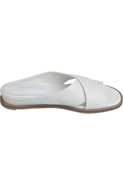 Feminine Leather Low Dolgu Topuk Sandalet