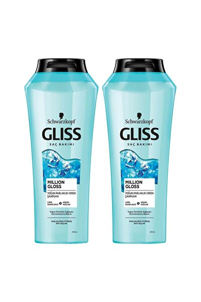 Million Gloss Yoğun Parlaklık Veren Şampuan 400 ml 2'li