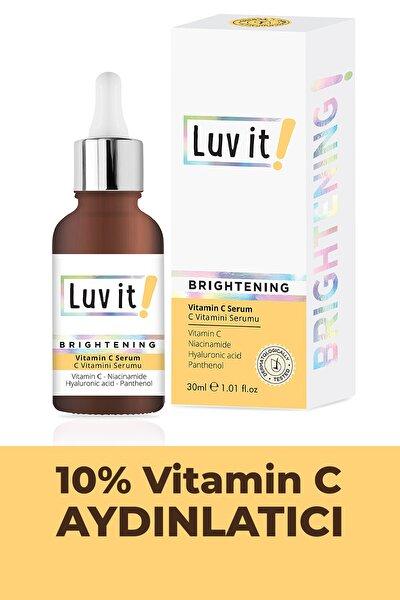 Aydınlatıcı C Vitamini Serumu (Vitamin C + Hyaluronic Acid + Panthenol + Niacinamide) 30 ml
