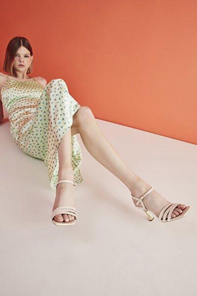 Bej Kadın Kadın Sandalet 01SAH214720A310