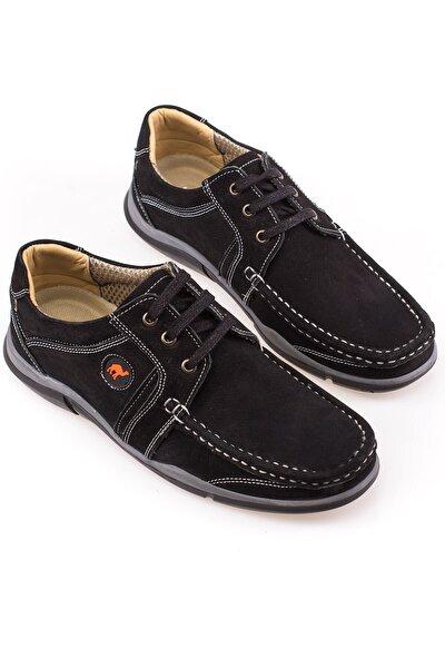 Hakiki Deri Lacivert Erkek Casual Ayakkabı