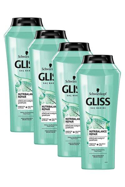 Nutribalance Repair Saç Dökülmesine Karşı Şampuan 500 ml 4'lü