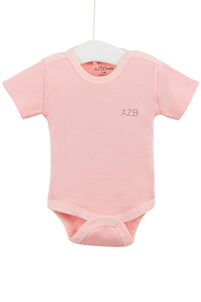 Kız Bebek Çıtçıtlı Body 0-12 Ay Azz001725-3