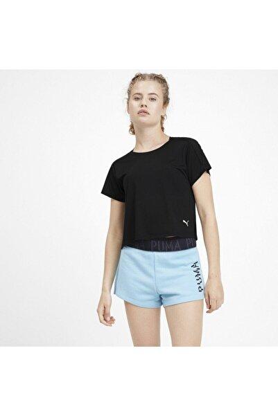 Logo Graphıc Siyah Kadın T-shirt 101119353