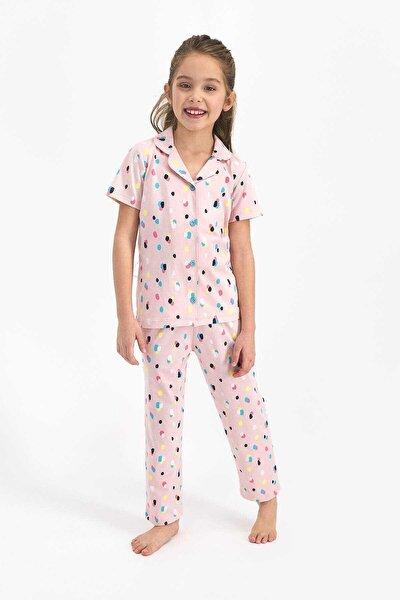 Kız Çocuk Gömlek Pijama
