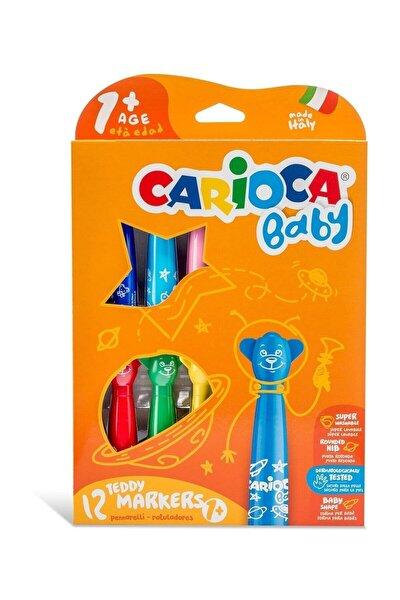 Baby Yıkanabilir Keçeli Boya Kalemi 12li Set