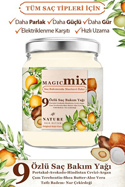 9 Özlü Saç Güçlendirici ve Besleyici 190 ml
