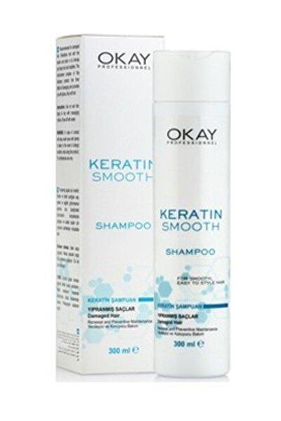 Smooth Keratin Onarıcı Şampuan 300 ml