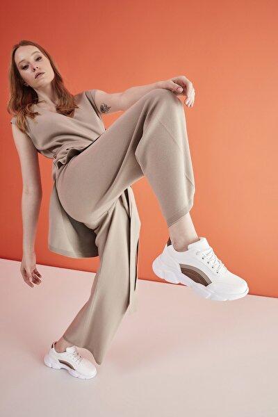 Kadın Beyaz Sneaker 01AYY214560A904