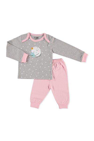 Basic Kız Bebek Pijama Takımı