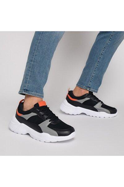 FREDO Lacivert Erkek Kalın Taban Sneaker Spor Ayakkabı 100519746