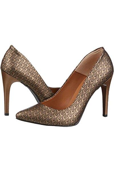 Kadın Altın Ayakkabı 54085