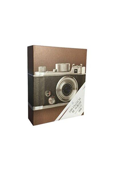 Fotoğraf Albümü 100'lük 15x21cm Fotoğraf Makinası Desenli