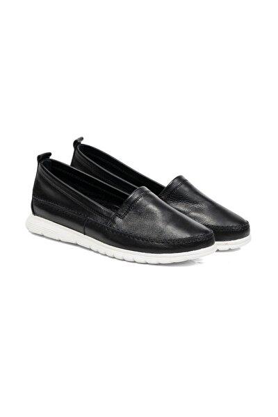 Kadın Siyah Renkli Babet Ayakkabı 57734