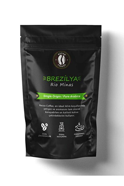 Brezilya / Rio Minas (medium Roast) Kavrulmuş Kahve Çekirdeği 500 Gr..