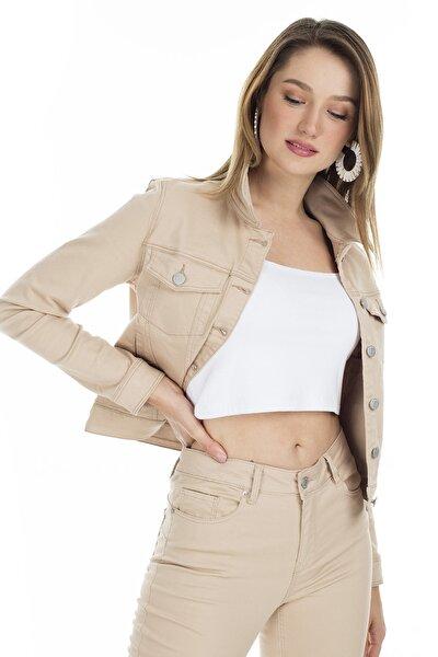 Kadın Camel Vmhot Slim Fit Ceket 10209864