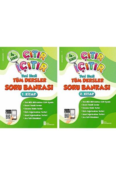 4. Sınıf Çıtır Çıtır Tüm Dersler Soru Bankası Set 1 Ve 2. Kitap