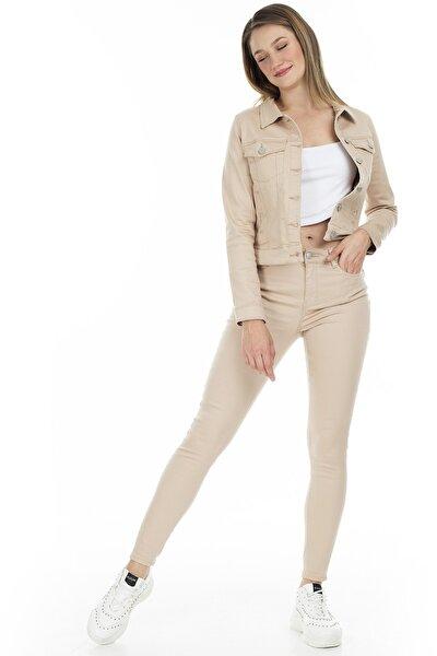 Kadın Bej Pantolon 10210798