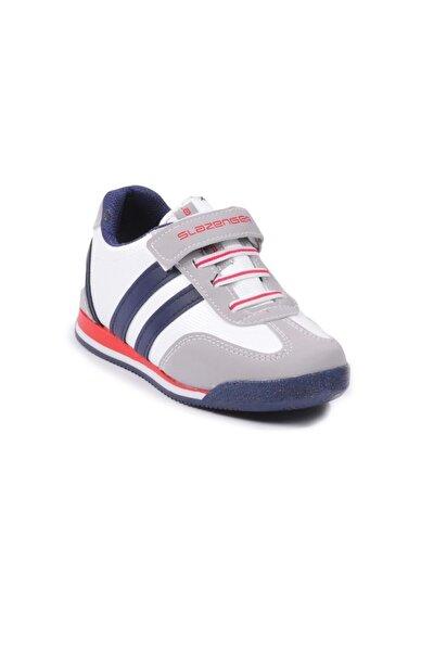 Unisex Çocuk Beyaz Lacivert Spor Ayakkabı