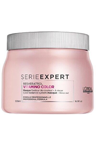 Loreal Serie Expert Vitamino Color Resveratrol Maskesi 500 ml.