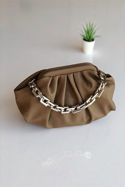 Kadın Vizon Burslu Bohça Çanta