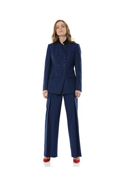 Kadın Mavi Nazorin Ceket