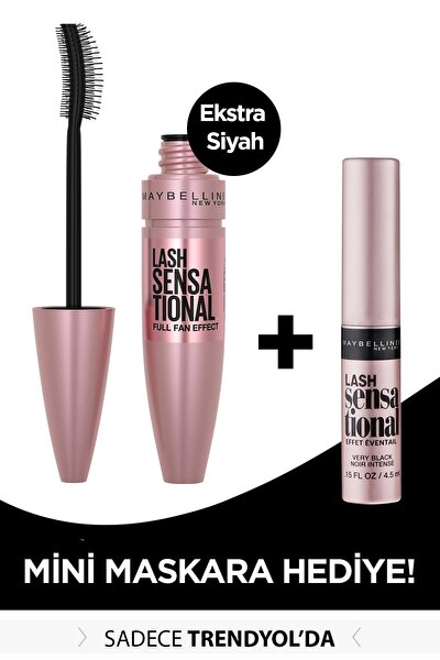 Lash Sensational Intense Black Maskara 9.5 ml + Mini Lash Sensational Siyah Maskara 4.5 ml 301717252