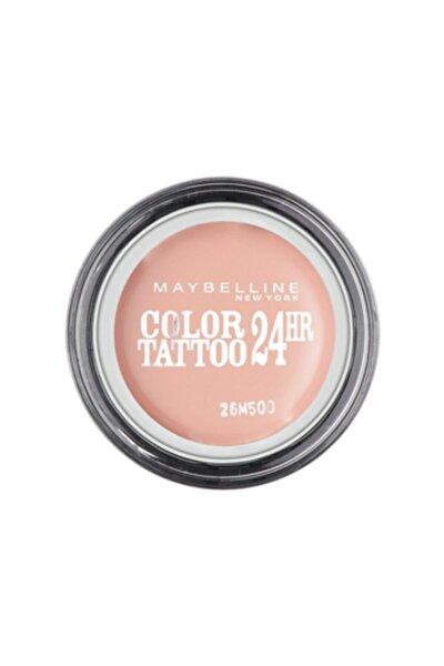 Color Tattoo 24h Mat Göz Farı - 91 Creme De Rose -