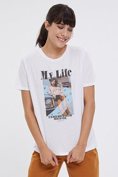 Kadın T-Shirt LF2026242