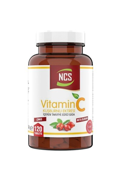 Vitamin C 1000 Mg Beta Glukan Kuşburnu Çinko 120 Tablet