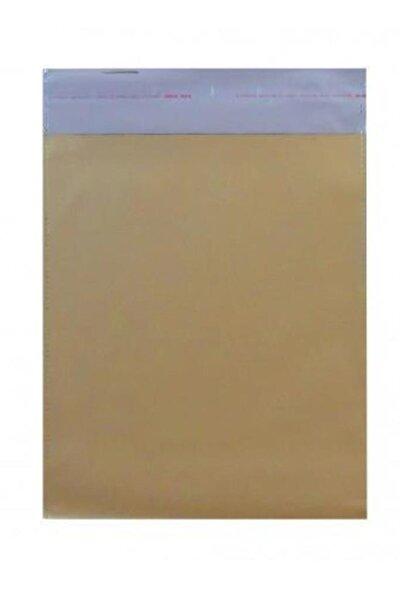 Gold Yapışkanlı Hediye Paketi 25x35 50 Adet