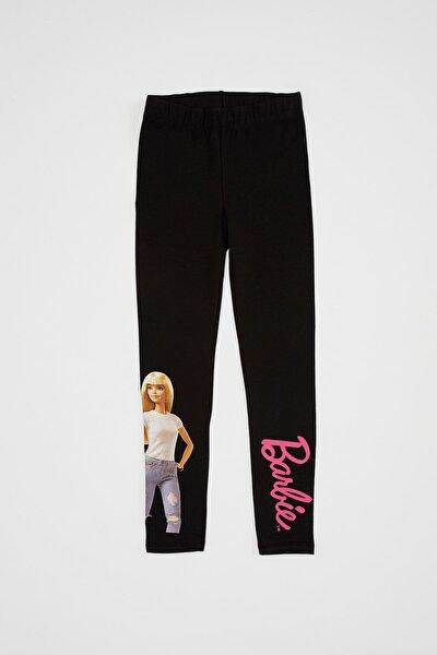 Kız Çocuk Barbie Lisanslı Tayt
