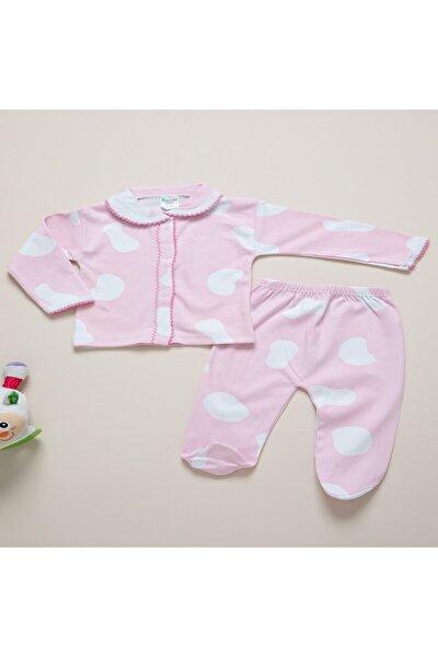 Kız Bebek Pembe Takım