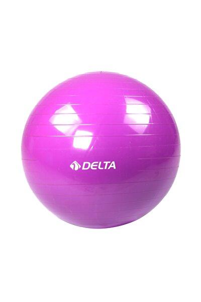 55 cm Dura-Strong Deluxe Mor Pilates Topu