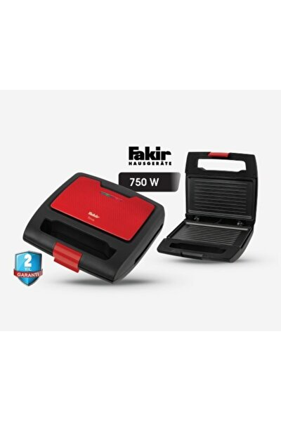 Tina Mini Tost Makinası-kırmızı Siyah