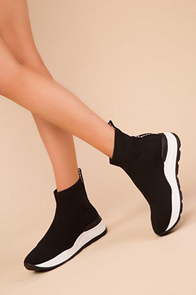 Siyah Kadın Sneaker 15334