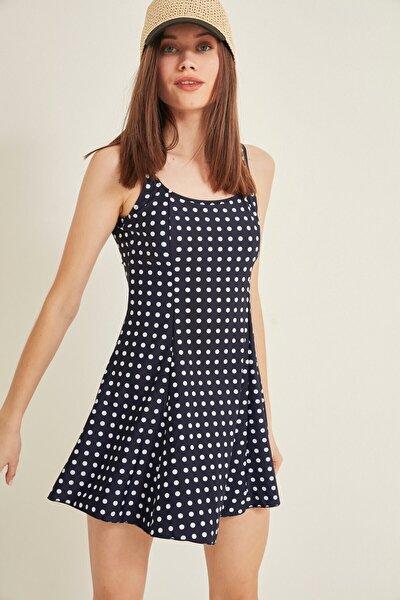 Kadın Elbise Mayo 7317-1 Çok Renkli