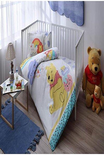 Taç Lisanslı Bebek Nevresim Takımı Winnie The Pooh Hunny