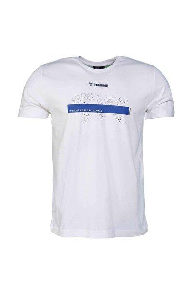 Oterup Erkek Beyaz Günlük Stil Tişört 911185-9973